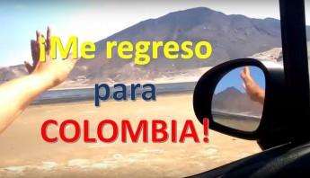 me regreso para colombia
